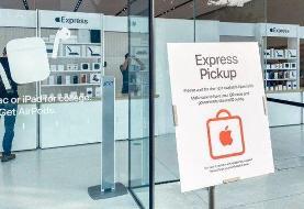همه فروشگاههای اپل در آمریکا گشایش یافت