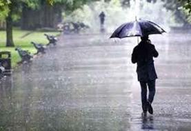 بارش باران در ۲۱ استان | کاهش ۶ تا ۱۲ درجهای دما در سواحل دریای خزر