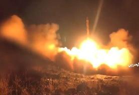 (ویدئو) لحظه شلیک موشک ذوالفقار به سمت عربستان
