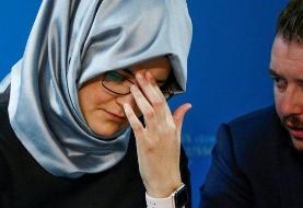 نامزد جمال خاشقجی خواستار 'مجازات' بن سلمان شد