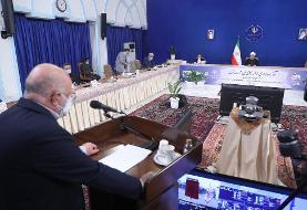 روحانی: آمریکا اعتراف کرده فشار حداکثری غلط بود /مقابل ما زانو میزنید