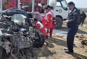 ۴ کشته در تصادف کامیون با پژو