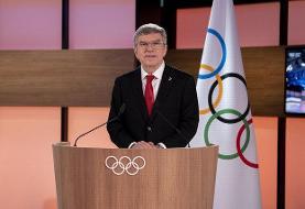 توماس باخ آب پاکی را روی دست مخالفان المپیک ریخت