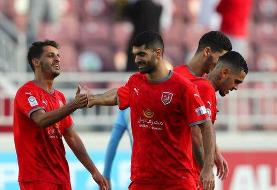 پیروزی الدحیل مقابل الشرطه با حضور ۹۰ دقیقهای علی کریمی