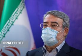 پیام تسلیت وزیر کشور در پی عروج سردار حجازی