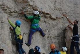 سنگنوردی زنان در فضای باز در اصفهان ممنوع شد