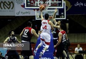 نخستین باخت مهرام در لیگ بسکتبال رقم خورد
