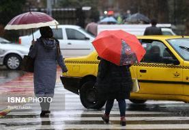 بارش باران و برف در ۲۲ استان کشور