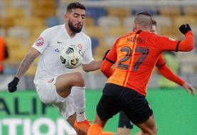 درخشش صیادمنش با زدن ۲ گل در لیگ اوکراین