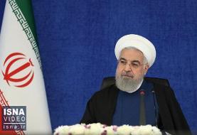 روحانی: ما در واردات مرغ هم تحریم شدیم