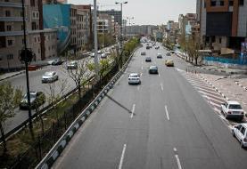 ترافیک روان صبحگاهی در معابر و بزرگراه های پایتخت