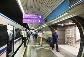 آمار سالانه سفر با مترو تهران
