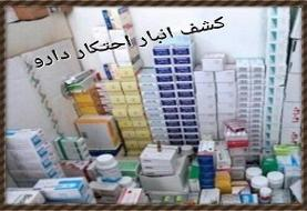 کشف انباری با ۵ میلیون داروی قاچاق در فردیس