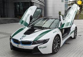 ابرخودروهای خیره کننده پلیس دبی (+عکس)