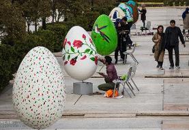اجرای المان های زیباسازی شهری در نوروز، با محوریت اعیاد شعبانیه
