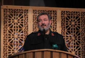 درجه سرلشکری به خانواده شهید «استوار محمودآبادی» اعطا شد