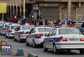 ویدئو / مانور خودرویی مشترک برای هشدار کرونا در اهواز