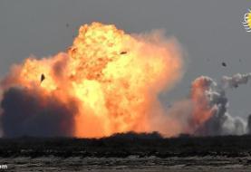 (تصاویر) استارشیپ اسپیسایکس باز هم منفجر شد