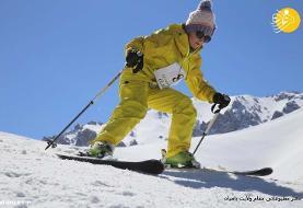 (تصاویر) مسابقه اسکی زنان در بامیان افغانستان
