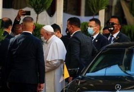 دیدار پاپ فرانسیس با آیتالله سیستانی در نجف