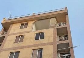 انفجار شدید در یک ساختمان اداری در خیابان سپهبد قرنی/ تصاویر