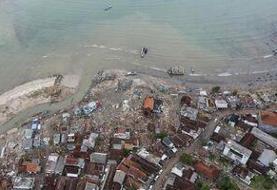 وقوع سونامی در سواحل اقیانوس آرام  پس از زلزله شدید ۷.۴ ریشتری