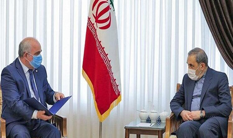 پیام پوتین به رهبر ایران