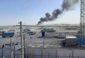 آتشسوزی دوباره در مرز ایران و افغانستان