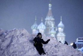 «زمستان واقعی» در راه مسکو