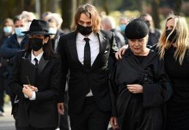 حضور سرمربی کرواسی و بلاژویچ در مراسم خاکسپاری کرانچار + عکس