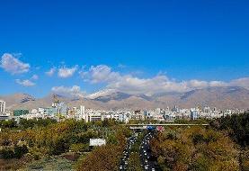 کیفیت هوای پایتخت قابل قبول است/ پیش بینی هوای شنبه