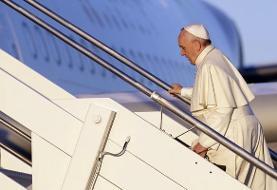عراق/ پاپ فرانسیس وارد اربیل شد