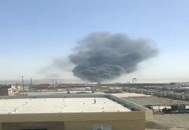 حادثه آتشسوزی در مرز ماهیرود