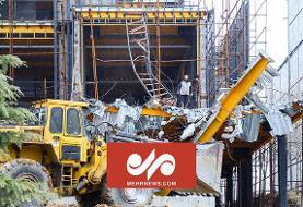 تخریب ساخت و سازهای غیرقانونی در کلاک