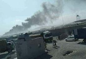 آتشسوزی گمرک ابونصر در مرز ایران و افغانستان مهار شد
