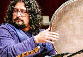 همراهی نوازنده ایرانی با تور بینالمللی سازهای کوبهای