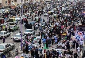 غرقآبی کردن خیابانهای مرکزی اهواز برای مقابله با دستفروشان!