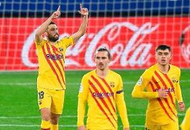 بارسلونا در ۲ قدمی اتلتیکومادرید