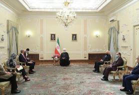 دیدار روحانی با نماینده شوراری امنیت در اجرای برجام؛ ایران با رفع ...
