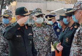سرلشکر باقری از قرارگاه پدافند هوایی خاتمالانبیا(ص) بازدید کرد