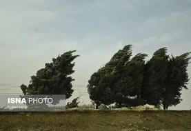 هشدار وزش باد شدید در ۱۳ استان