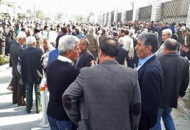 سرکوب تجمع صنفی بازنشستگان کارگری؛ چند نفر دستگیر شدند