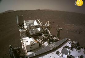 (ویدئو) حرکت کاوشگر ناسا روی سطح مریخ