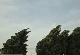 هشدار هواشناسی نسبت به وزش باد شدید در ۱۳ استان