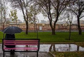 هواشناسی: ورود سامانه بارشی/ کاهش محسوس دما/ وزش باد شدید در تهران