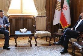 دیدار رئیس فدراسیون فوتبال با ظریف/عکس