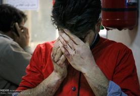 بیشترین ساعت مراجعات مصدومان حوادث چهارشنبه سوری