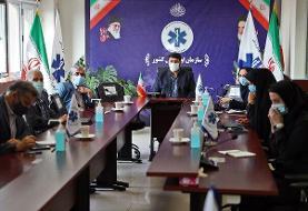 جلسه سلامت در حوادث و سوانح و کمیته پدافند غیر عامل برگزار شد