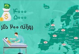 موشنگرافیک | افزایش ۳۰۰ درصدی مهاجرت پرستاران