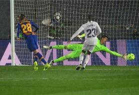 رئال مادرید پیروز الکلاسیکو شد